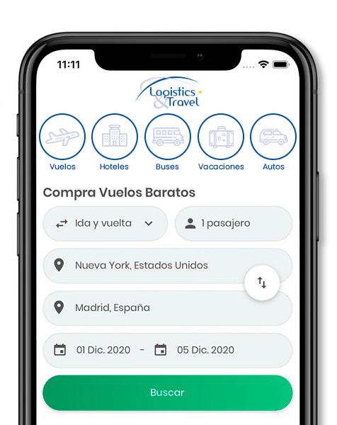 App Logistics & Travel